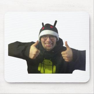 ¡Eric, el individuo de IamAndroid!! Mouse Pad