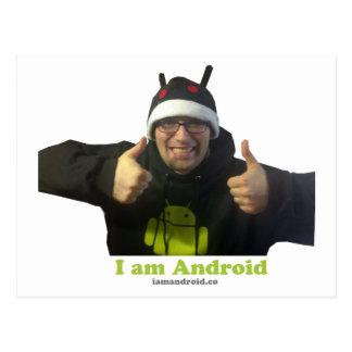 ¡Eric, el individuo de IamAndroid! Postal
