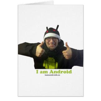 ¡Eric, el individuo de IamAndroid! Tarjeta De Felicitación