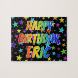 "[ Thumbnail: ""Eric"" First Name, Fun ""Happy Birthday"" Jigsaw Puzzle ]"