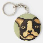 "eric hinsburg ""dog shop"" key chain"