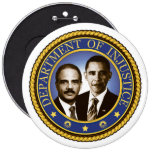 Eric Holder and the Department of Injustice Pin