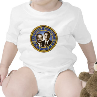 Eric Holder and the Department of Injustice T-shirts