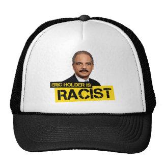 Eric Holder is Racist Mesh Hat