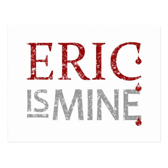 Eric is Mine Postcard