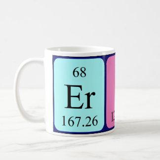 Eric periodic table name mug