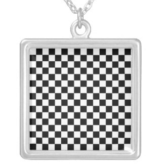Eric Sommer Square Pendant Necklace