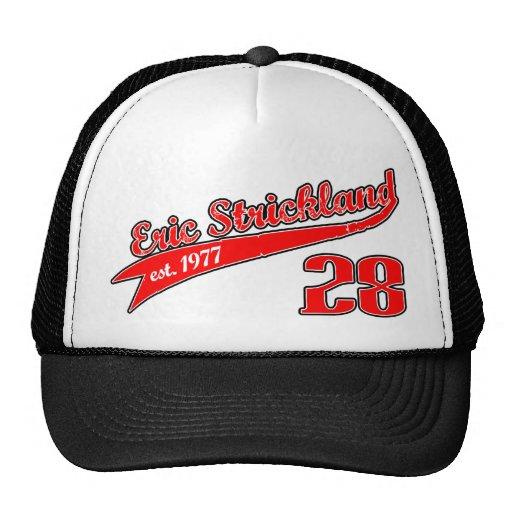 Eric Strickland Baseball Trucker Cap Trucker Hat