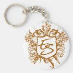 Eric Strickland Crest Key Chain