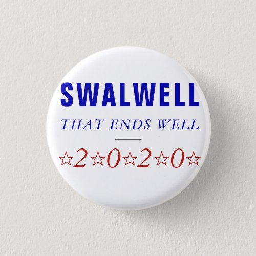 Eric Swalwell  2020 Democratic President Ticket Button