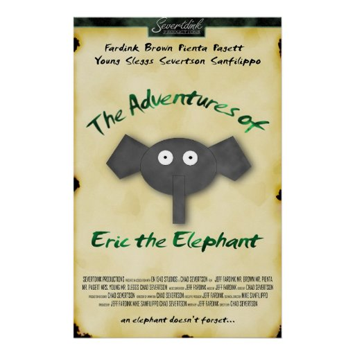 Eric The Elephant Movie Poster