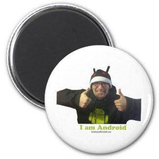 Eric, the IamAndroid Guy! 2 Inch Round Magnet