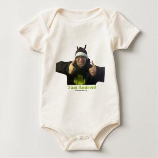 Eric, the IamAndroid Guy! Baby Bodysuit