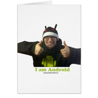 Eric, the IamAndroid Guy! Card