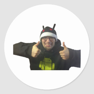 Eric, the IamAndroid Guy!! Classic Round Sticker
