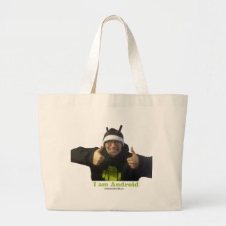 Eric, the IamAndroid Guy! Tote Bags