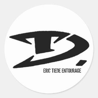 ERIC TIEDE ENTOURAGE STICKER