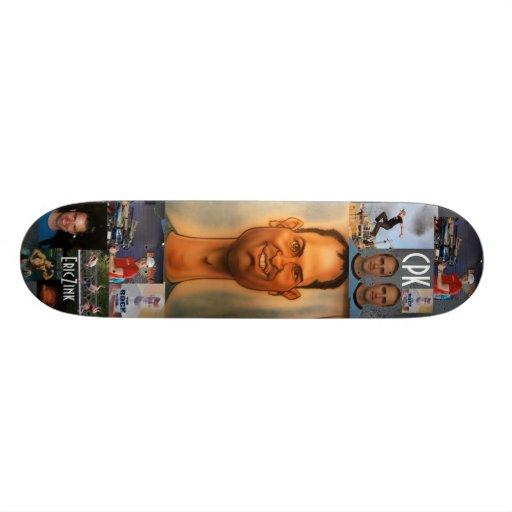 Eric Zink - 2 Custom Skateboard
