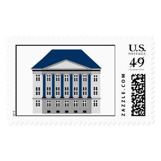 Erich Erichsen's Manison in Copenhagen Stamps
