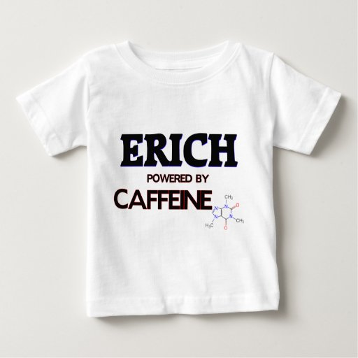 Erich Powered by Caffeine Tees