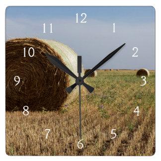 Erick, Oklahoma, USA - Route 66 Square Wall Clock