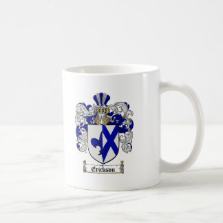 ERICKSON FAMILY CREST -  ERICKSON COAT OF ARMS COFFEE MUG