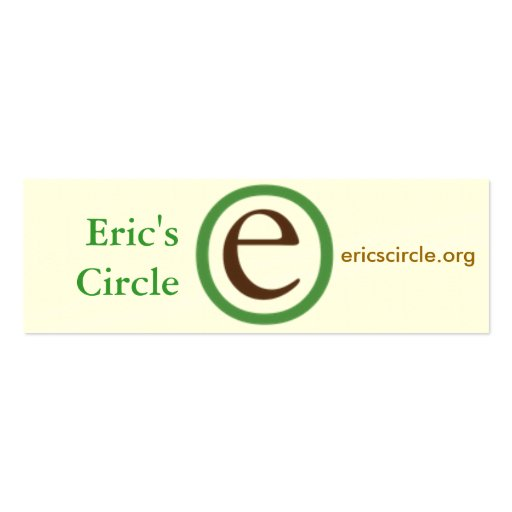 Eric s Circle business cards