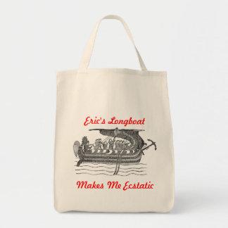 Eric's Longboat Tote Bag