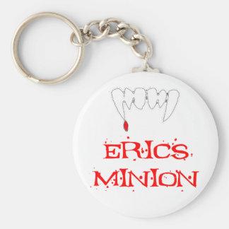 Erics Minion Basic Round Button Keychain