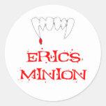 Erics Minion Classic Round Sticker