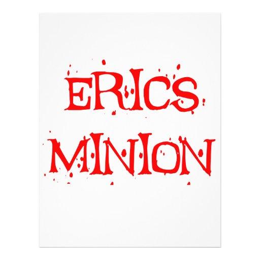 Erics Minion Flyer