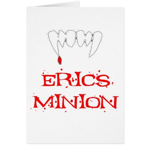 Erics Minion Greeting Card