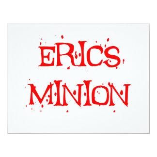 Erics Minion 4.25x5.5 Paper Invitation Card