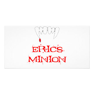 Erics Minion Photo Greeting Card