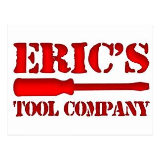 Eric's Tool Company Postcard