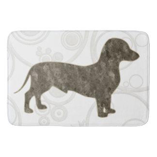 Eridox old style dachshund bath mat