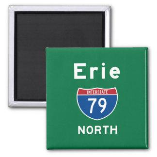 Erie 79 magnet