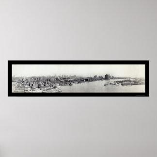 Erie Basin, Buffalo NY Photo 1911 Posters