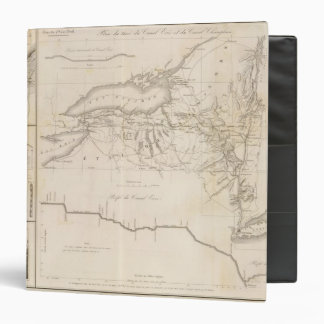 Erie Canal 3 Ring Binder