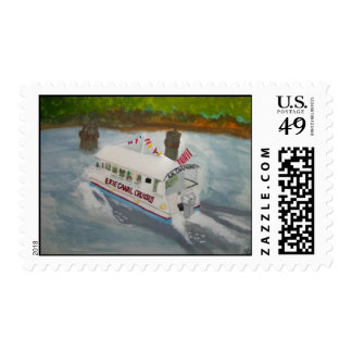 ERIE CANAL CRUISES POSTAGE