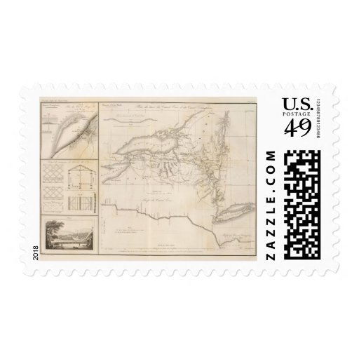 Erie Canal Stamps