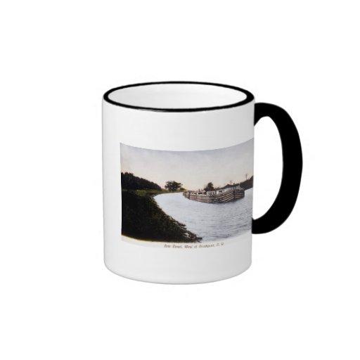 Erie Canal, West of Broadport, New York Coffee Mug