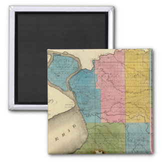 Erie County 2 Inch Square Magnet