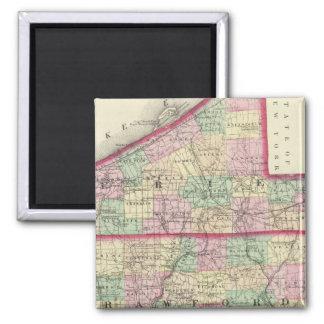 Erie, Crawford, condados de Venango Imán Cuadrado