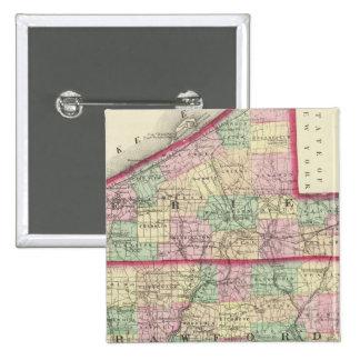 Erie, Crawford, condados de Venango Pin Cuadrado