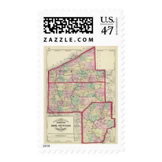 Erie, Crawford, Venango counties Postage