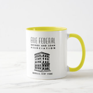 Erie Federal Savings & Loan Mug