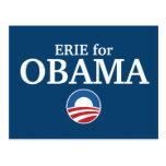 ERIE para el personalizado de Obama su ciudad Postal
