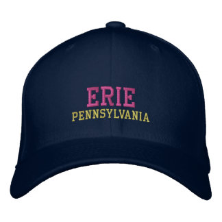 Erie Pennsylvania Embroidered Hat