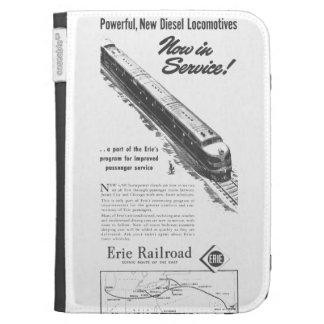 Erie Railroad 1948 New Diesel Locomotives Cases For Kindle